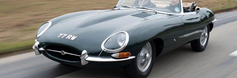 E-Type Jaguar Classic Car